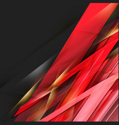 Abstract black and red background vector