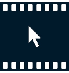 Arrow cursor icon vector