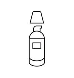 Concealer foundation cream linear icon vector