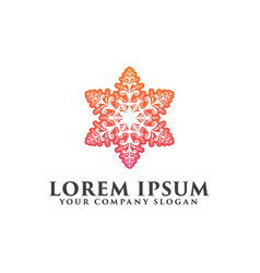 decoration logo interior icon boutique logo vector image