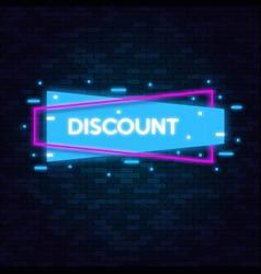 discounts sale concept icons for shop retail vector image