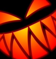 halloween scary face vector image