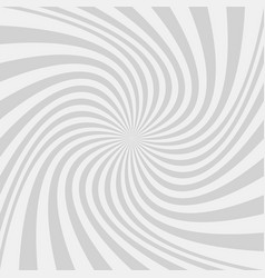 Light grey abstract spiral design background vector