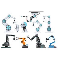 robotic engineering vector image