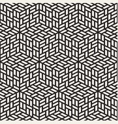 seamless pattern modern stylish lattice texture vector image