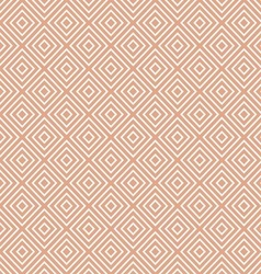 White Geometric Pattern on Beige vector image