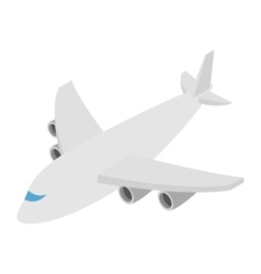 Airplane isometric 3d icon vector image