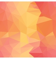 seamless orange triangle vector image vector image