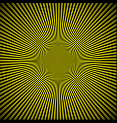 Black yellow burst background vector