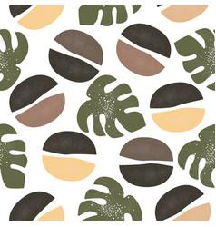 cute seamless scandinavian terracotta pattern vector image