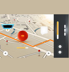 GPS Background for Design vector