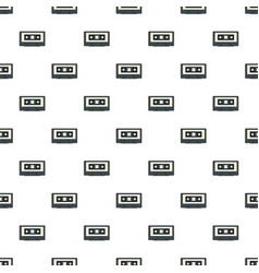 Music casette pattern seamless vector