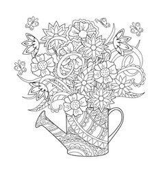 Zendoodle Coloring Pages Vector Images Over 320