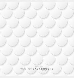 white and gray seamless geometric decorative vector image