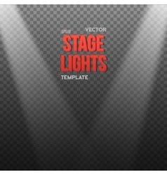EPS10 Bright Light Effect Transparent vector image
