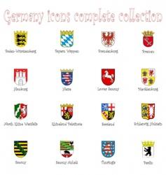 Germany icon vector image
