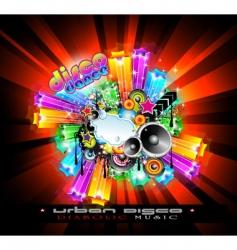 nightlife disco vector image vector image
