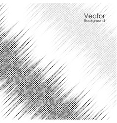 abstract background with black and gray dots vector image