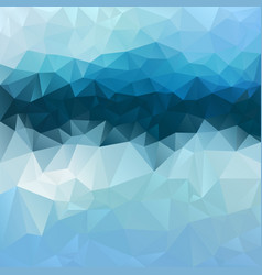 Abstract irregular polygon square background blue vector