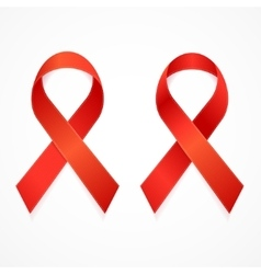 AIDS Ribbon Set vector image