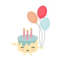 happy birthday card happy birthday card vector image