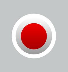 japan flag japanese japan sun flag background vector image