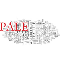 pale word cloud concept vector image