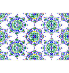 pattern in oriental style vector image