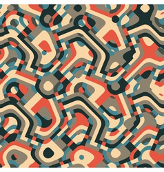 Psychedelic geometric ornamen vector
