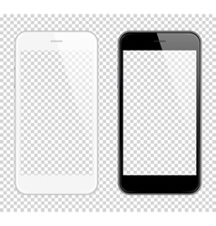 Realistic smart phone Mock Up Fully Re vector