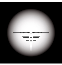 Rifle scope vector