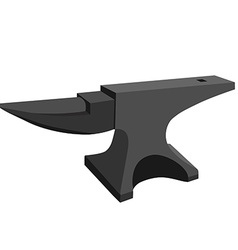 Anvil vector image