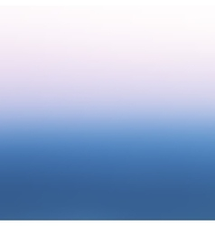 Abstract colorful blurred background Sea vector image