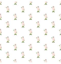 Beekeeper pattern seamless vector