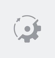gear rotation vector image