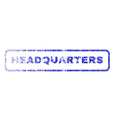 Headquarters rubber stamp vector