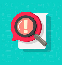 Identify document file search or risk comment vector