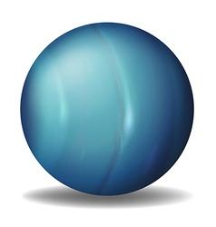 Planet Uranus vector