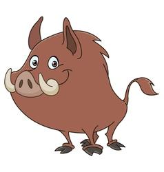 Wild boar vector
