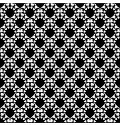 Design seamless diagonal lattice pattern vector image