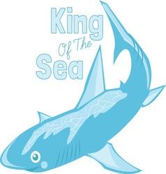 King of sea vector