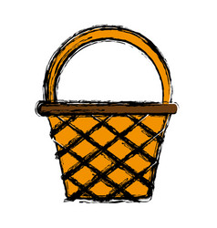 basket icon image vector image