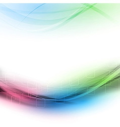 Colorful abstract modern stylish background vector image