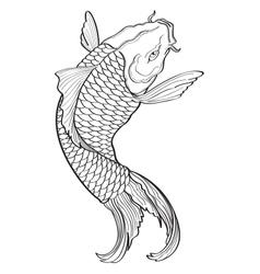 Koi Fish3 vector