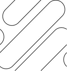 Line art pattern vector