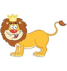 Lion King Of Jungle vector image