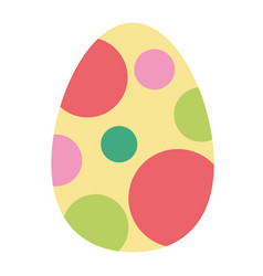 Paschal easter egg vector