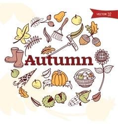 autumn3 vector image vector image