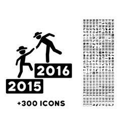 2016 business training icon vector