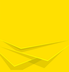 Abstract background yellow layers editable vector